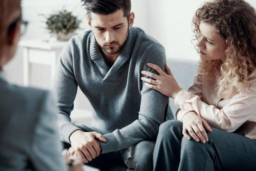 Couple attending partner therapy